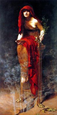 John Collier. Priestess