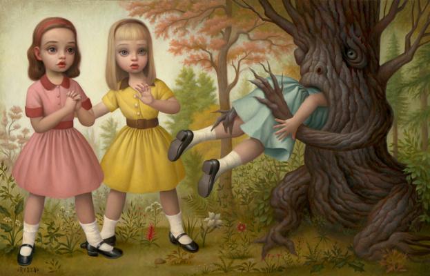 Mark Raiden. Girl eaten by tree