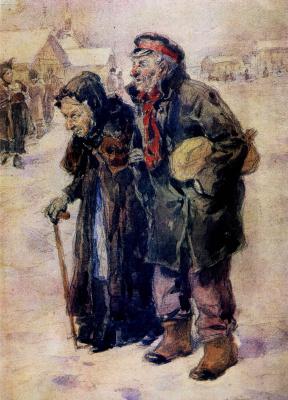 Vladimir Egorovich Makovsky. Old men