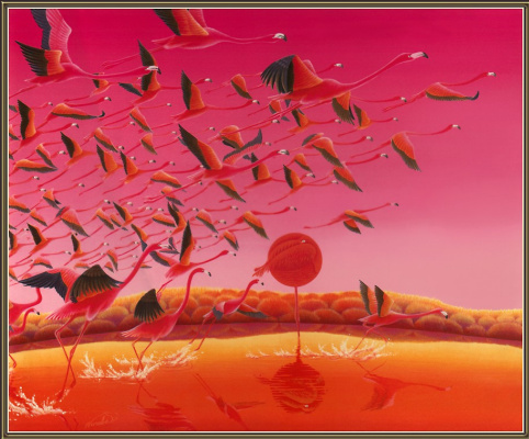 Вараб Аска. Фламинго