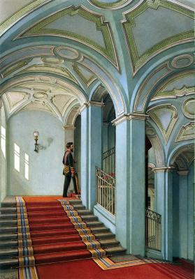 Константин Андреевич Ухтомский. Салтыковская лестница