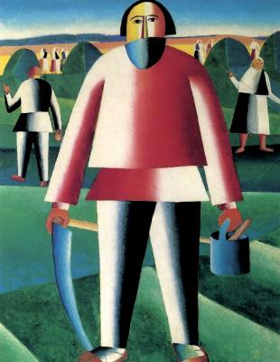 Kazimir Malevich. Haymaking