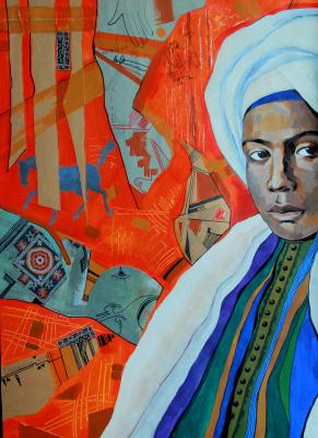 Mokhinur Maksumova. Moroccan