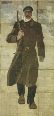 Alexander Alexandrovich Deineka. Krasnogvardeyets