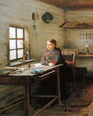 Константин Александрович Трутовский. Сельская учительница