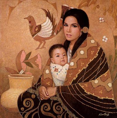Карл Банг. Любовь матери
