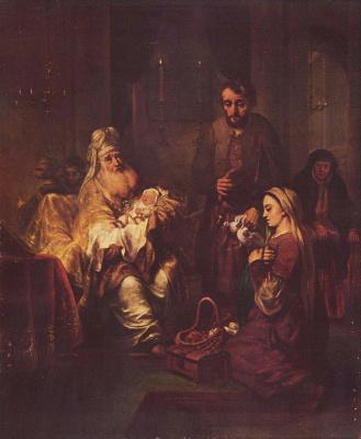 Гербранд Янс ван ден Экхаут. Принесение во храм