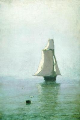 Arkhip Ivanovich Kuindzhi. Sea with a sailing ship