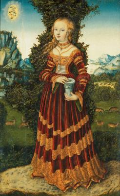 Lucas Cranach the Elder. St. Mary Magdalene