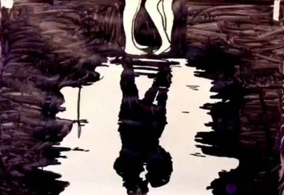 Unknown artist. Shadow