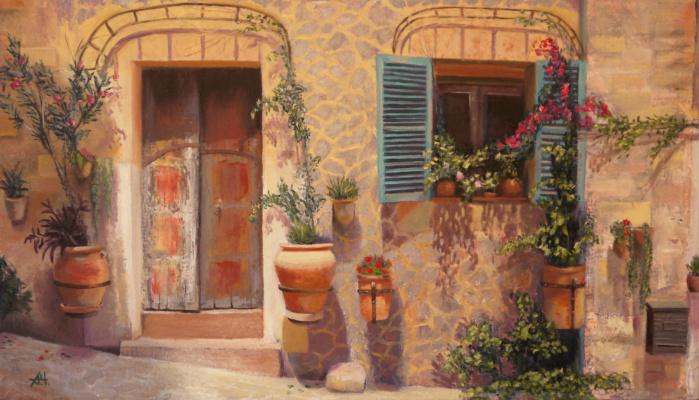 Alexey Chernov. Florentine courtyard
