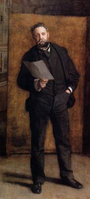 Thomas Eakins. Portrait Of Leslie W. Miller