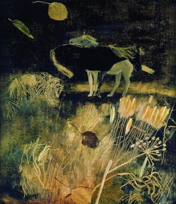 Alexander Alexandrovich Deineka. Night landscape