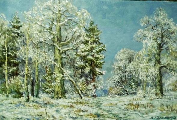 Victor Vladimirovich Kuryanov. Otshumela blizzard