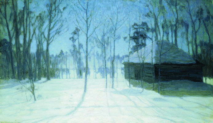Stanislav Yulianovich Zhukovsky. Winter evening