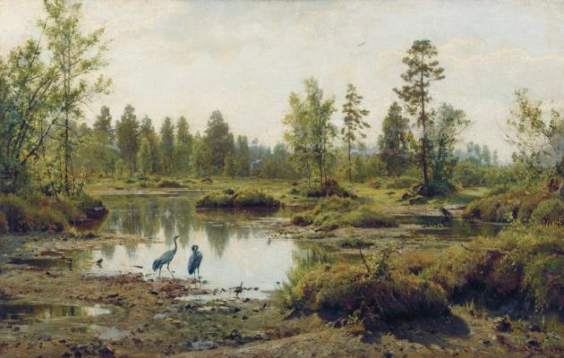 Ivan Ivanovich Shishkin. Swamp. Polesie