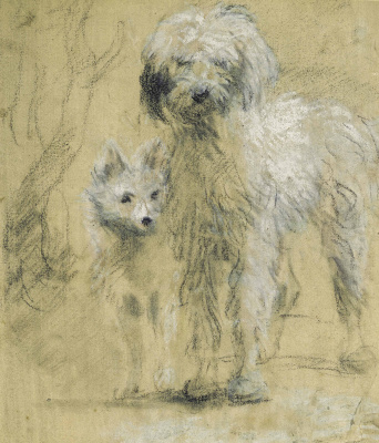 Thomas Gainsborough. Tristram and Fox