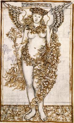 William Morris. Nymph Flora
