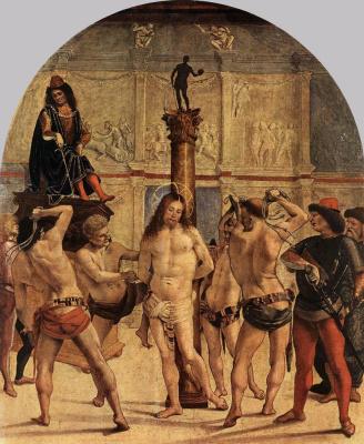 Luke Signorelli. Flagellation Of Christ