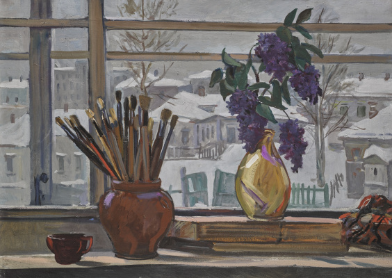 Alexander Alexandrovich Deineka. The window in the shop