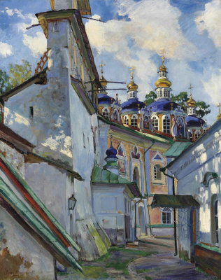 View at Pechersky monastery