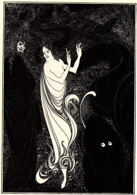 Aubrey Beardsley. The Gold of the Rhine
