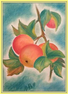 Valentina Khudyakova. Apples