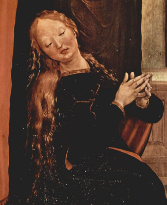 Matthias Grünewald. The second front side, left wing