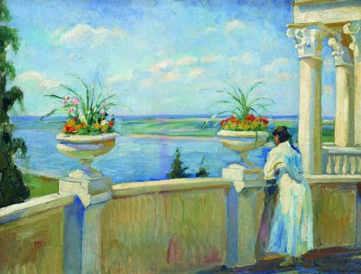 Sergey Arsenievich Vinogradov. Summer day