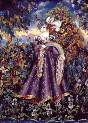 Памела Силин-Палмер. Кролики радуги