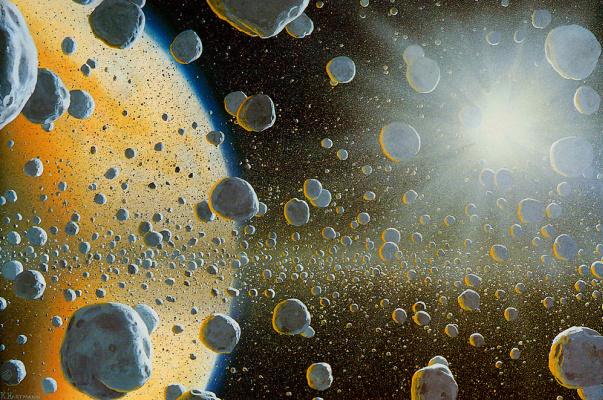 William Hartmann. The Rings Of Saturn