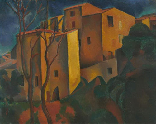 Andre Derain. The Old Town, Cagnes