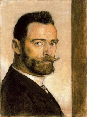 Ferdinand Hodler. Self-portrait