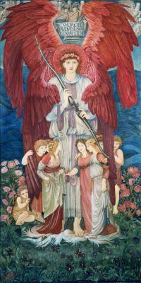 Edward Coley Burne-Jones. Love