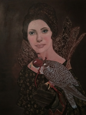 Olga Polovtsy. Portrait of Tatiana.