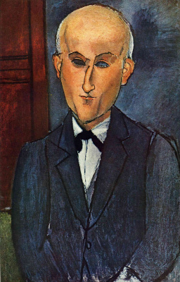 Amedeo Modigliani. Portrait Of Max Jacob