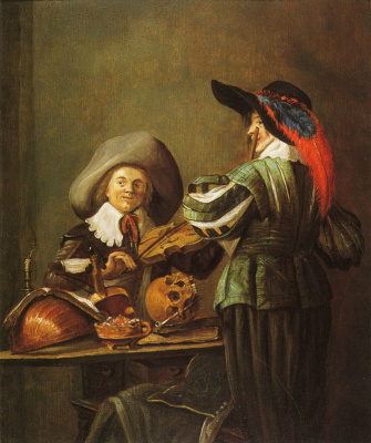 Judith Leyster. Two musicians