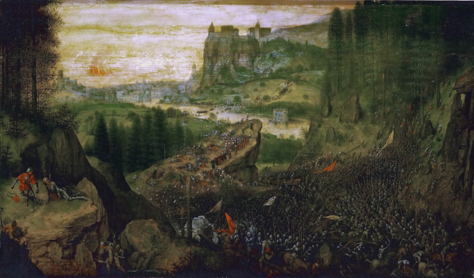 Pieter Bruegel The Elder. The Suicide Of Saul