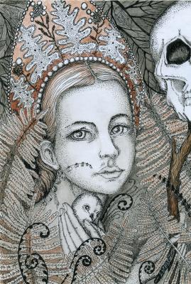 Olyona Ivanovna Koneva. When fern blossoms