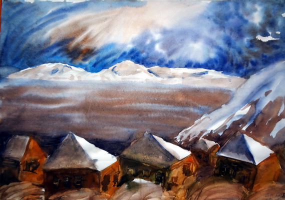 Lia Titarenko. Winter Crimea