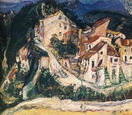 Haim Solomonovich Soutine. Landscape at Cagnes