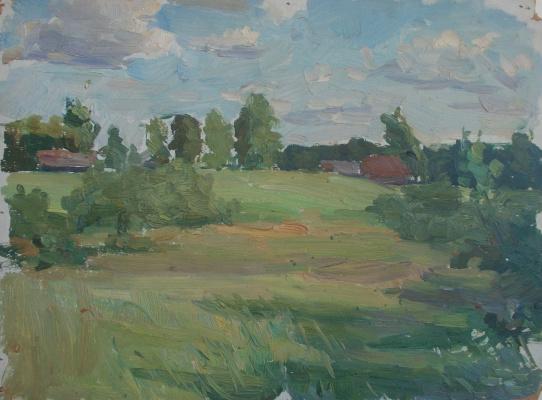 Nina Vasilievna Sedova. Cedar grove