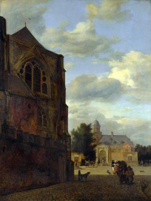 Ян ван дер Хейден. Замок