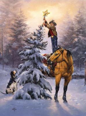 Джек Соренсон. Новогодняя елка