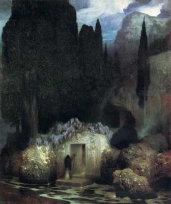Arnold Böcklin. Door