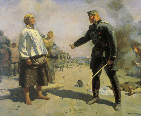 Sergey Vasilyevich Gerasimov. Partisan mother