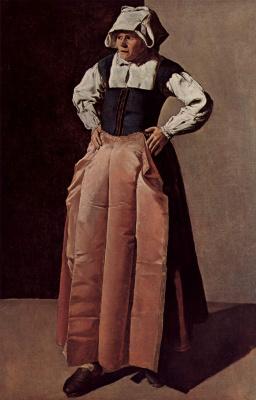 Жорж де Латур. Портрет пожилой женщины