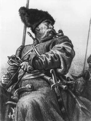 Евгений Адольфович Кибрик. Тарас Бульба