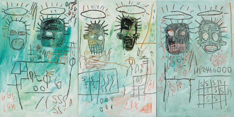 Jean-Michel Basquiat. Six bandits
