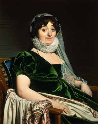 Jean Auguste Dominique Ingres. The Countess de Tournon